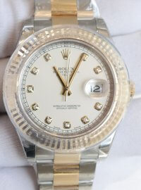 Rolex Datejust II watch in Yellow Rolesor - combination of 904L steel and 18 ct yellow gold 116333