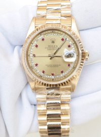 Rolex Datejust 36 watch in Yellow Rolesor: 18 ct yellow gold