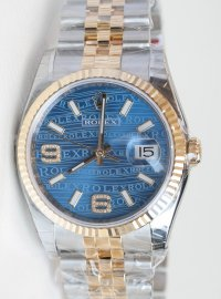 Rolex Datejust 36 watch in Yellow Rolesor - combination of 904L steel and 18 ct yellow gold 116233