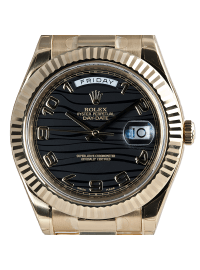 Rolex Day-Date II 41mm Yellow Gold President 218238