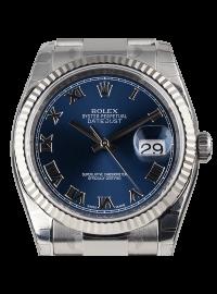 Rolex DateJust 36mm Steel Blue Dial 116234