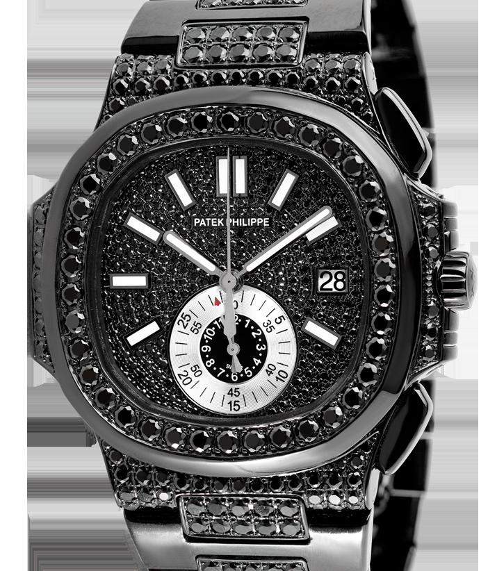 Patek Philippe Nautilus 5980 Black Custom PVD
