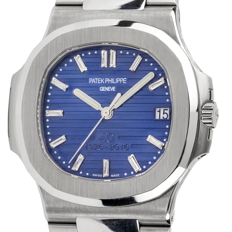 Patek Philippe Nautilus 5711/1A-010 Watch with CUSTOM Dial