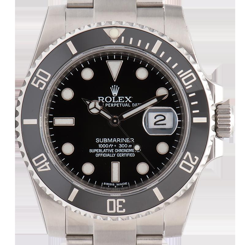 Rolex Submariner 40 Steel Black Dial 116610LN