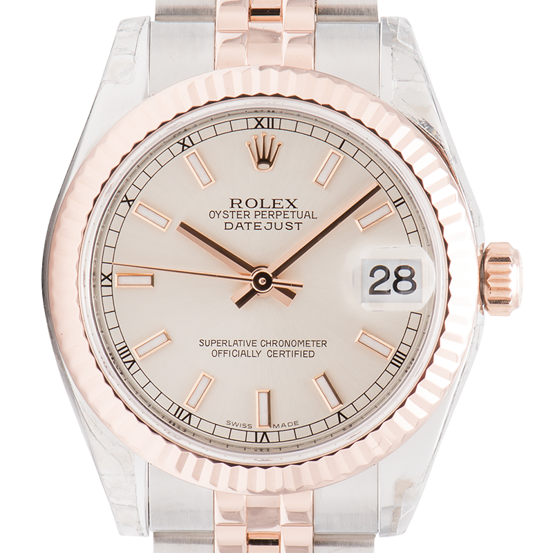 Rolex Lady-Datejust 31 Bi-metal Steel & Everose Gold 278271