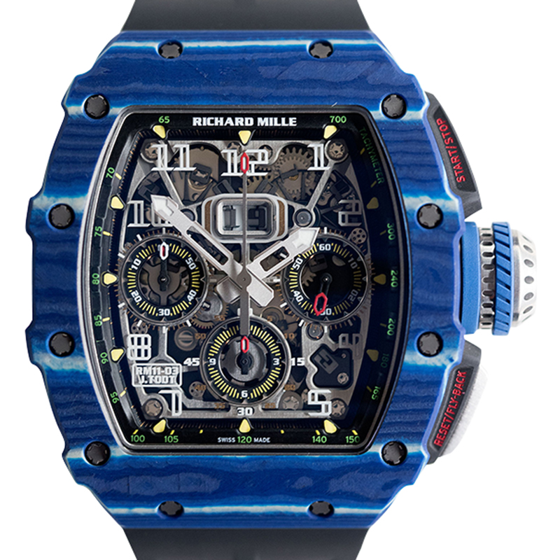 Richard Mille RM 11-03 JEAN TODT 49.94 x 44.50 x 16.15 mm Watch