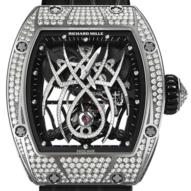 Richard Mille RM 19-01 Tourbillon Spider 46.40 x 38.30 x 12.45 mm Watch