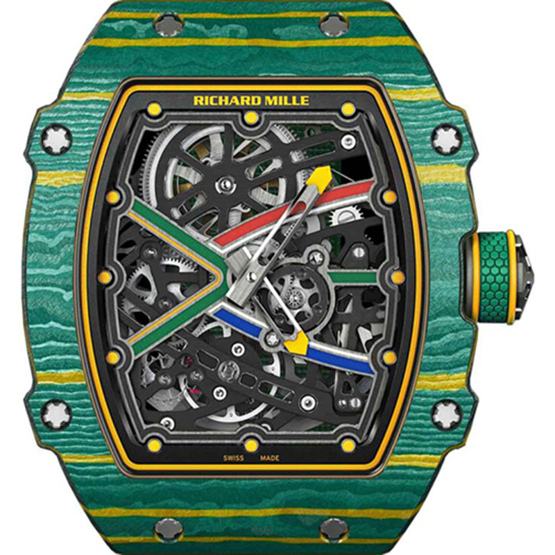 Richard Mille Sprint Wayde Van Niekerk 38.70 x 47.52 x 7.80 mm RM 67-02-2 Watch
