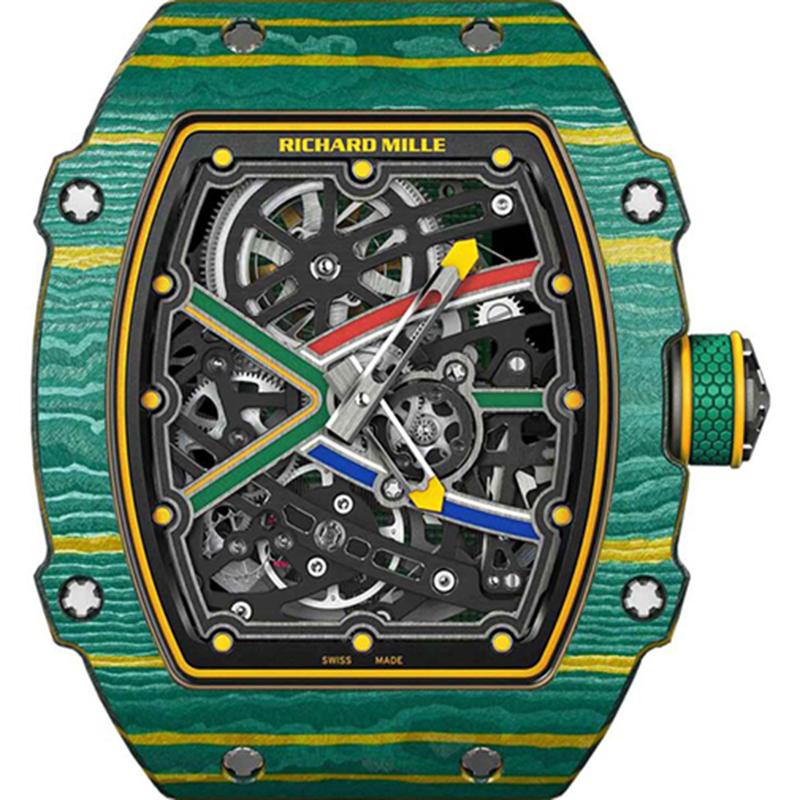 Richard Mille Sprint Wayde Van Niekerk 38.70 x 47.52 x 7.80 mm RM 67-02-2 Watch