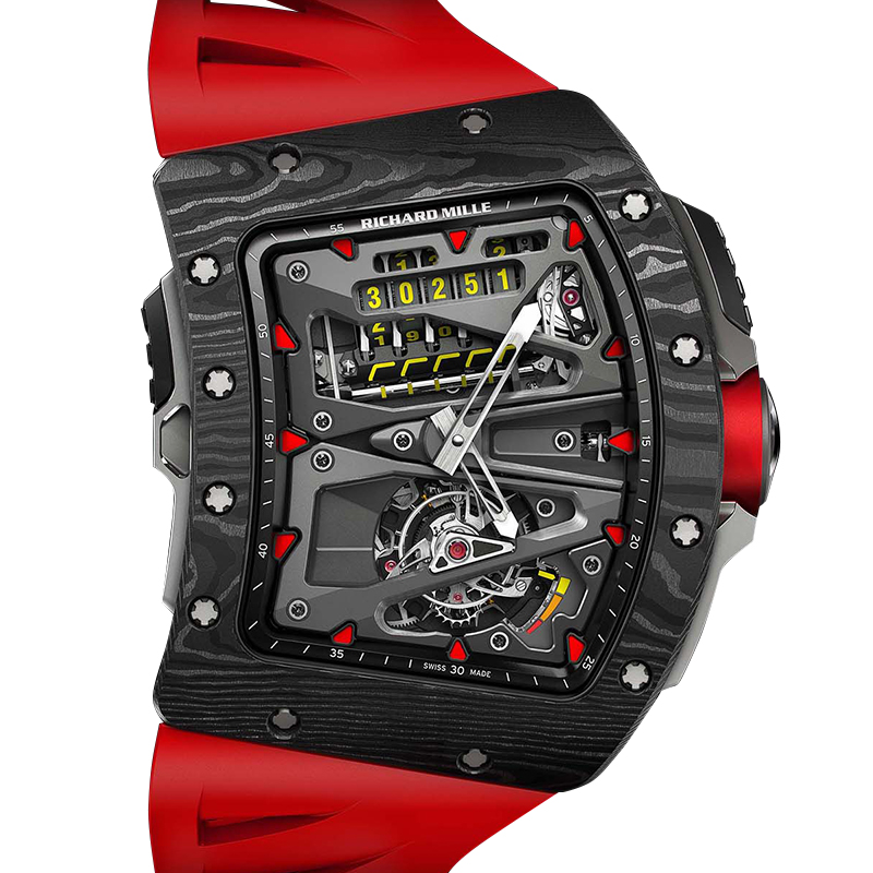 Richard Mille Tourbillon Alain Prost 57.88 x 49.48 x 17.65 mm RM-70-01 Watch