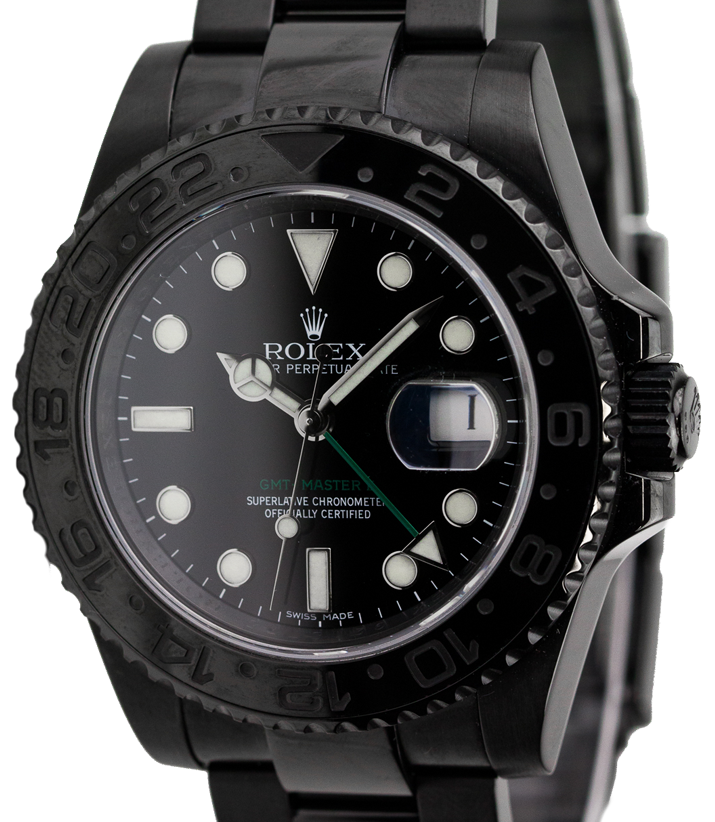 Rolex GMT-Master II Black PVD Coating 116710LN