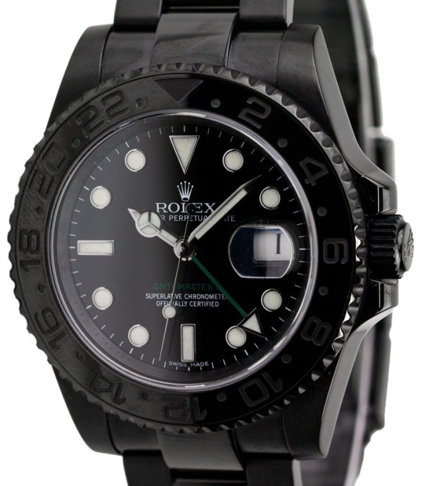 Rolex GMT-Master II Black PVD Coating 116710LN