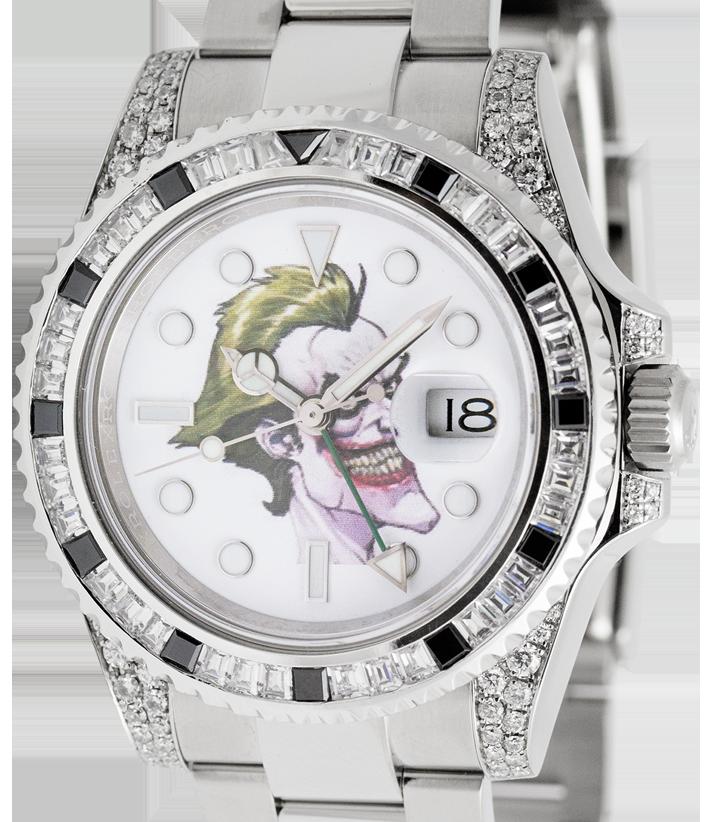 Rolex GMT-Master II 116710LN Precious Stones Joker Print Dial