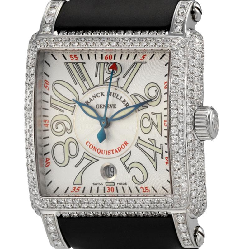 Franck Muller Cortez Conquistador Diamond Set 10000 H SC