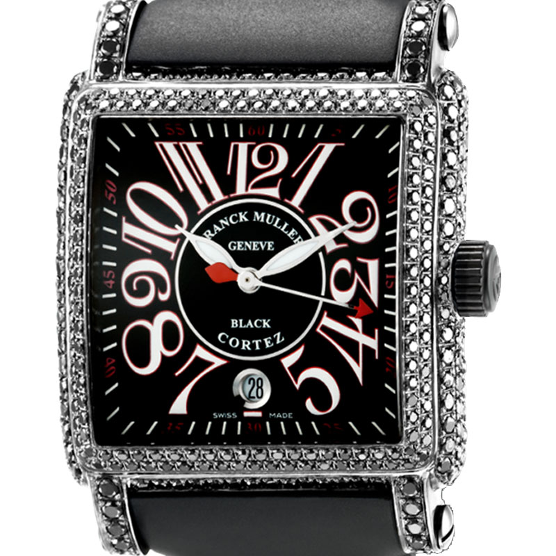 Franck Muller Cortez Conquistador Black Diamond Set 10000 H SC