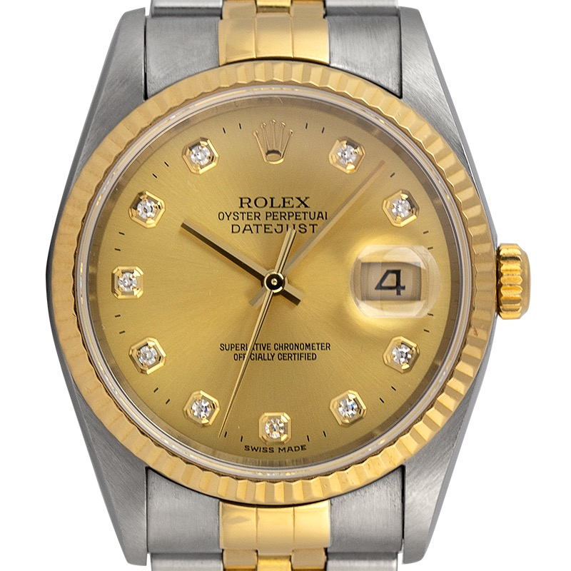 Rolex Datejust 36 Steel and Yellow Gold Jubilee 16233