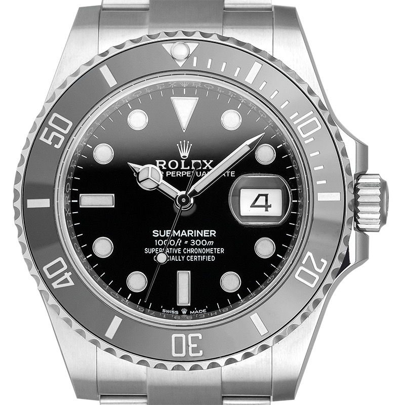 Rolex Submariner Date 126610LN Stainless Steel Black Dial Watch