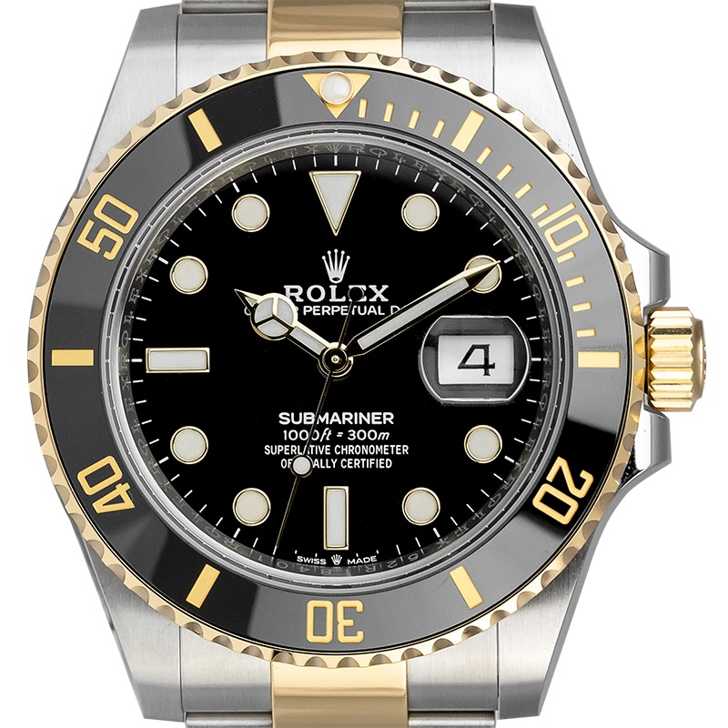 Rolex Submariner Date Steel and Yellow Gold 126613LN