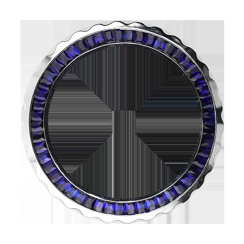 Chanel J12 38mm Baguette Cut Blue Sapphire Precious Stones Bezel