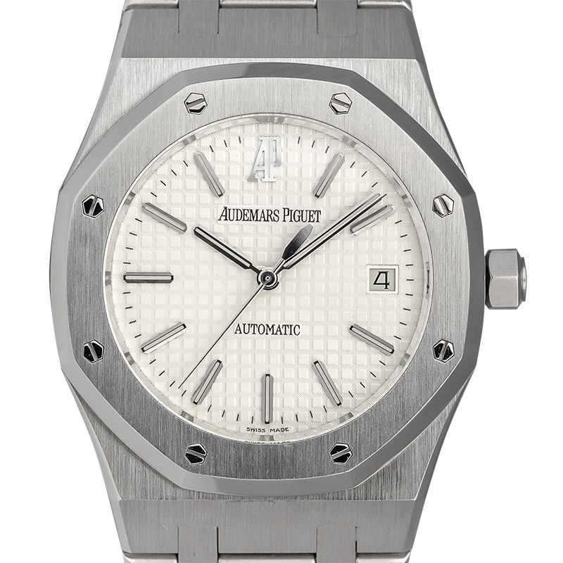 Audemars Piguet Royal Oak 39mm Steel White Dial Watch 15300ST.OO.1220ST.01