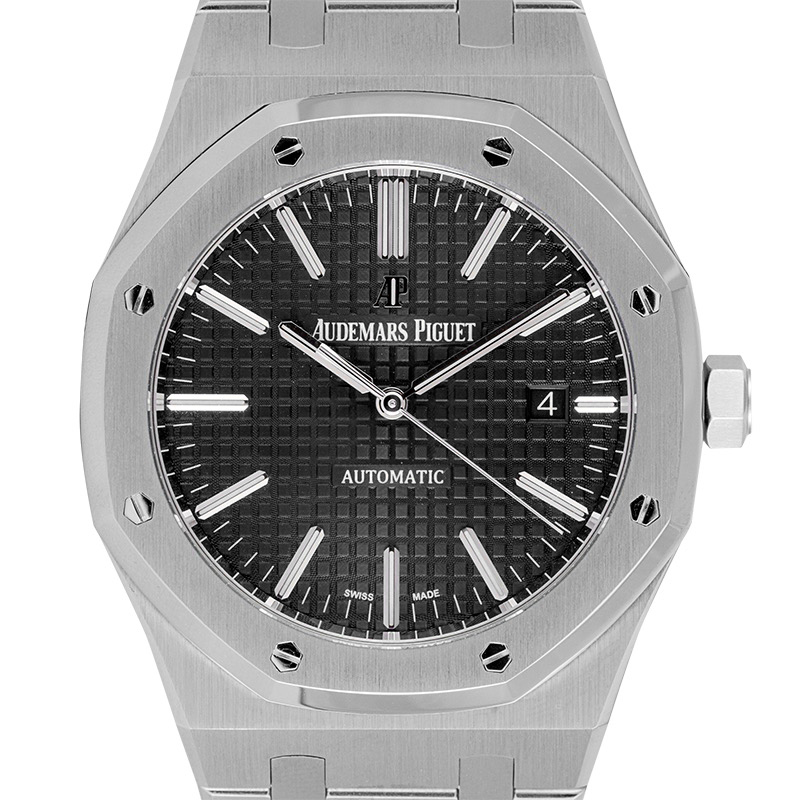 Audemars Piguet Royal Oak 41 Steel Black Dial 15400ST.OO.1220ST.01