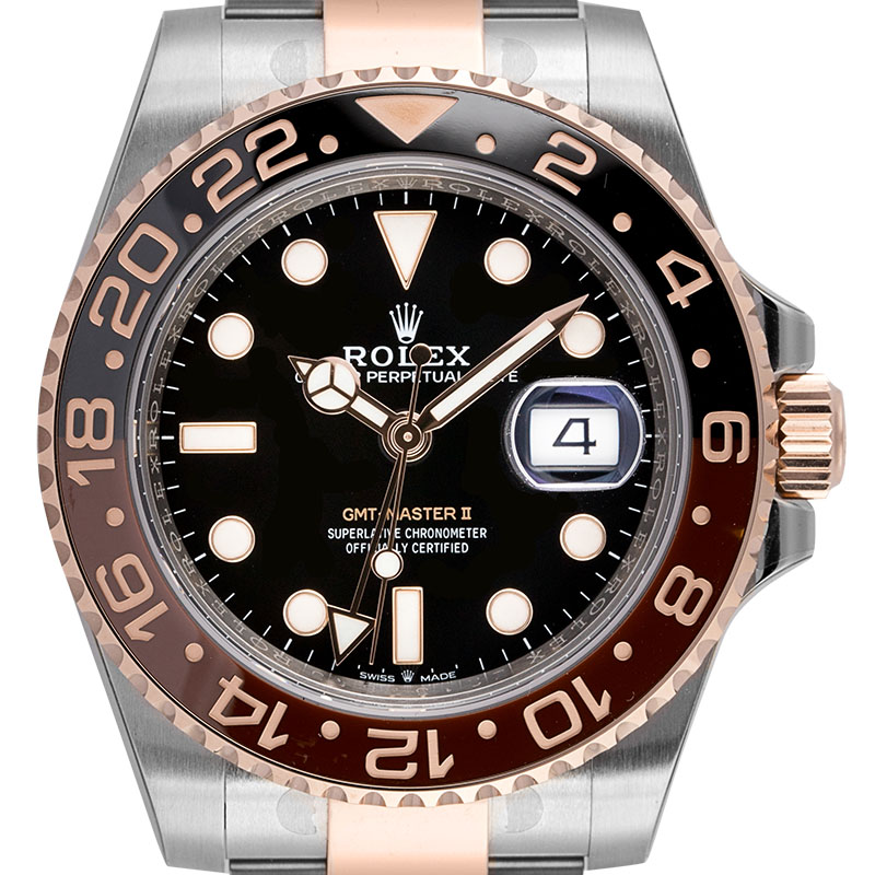 Rolex GMT-Master II Oystersteel and 18ct Everose Gold 126711CHNR