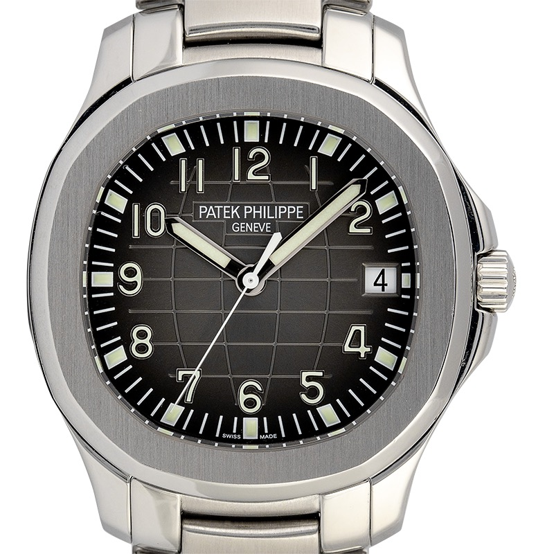 Patek Philippe Aquanaut Date Steel Bracelet Watch 5167/1A