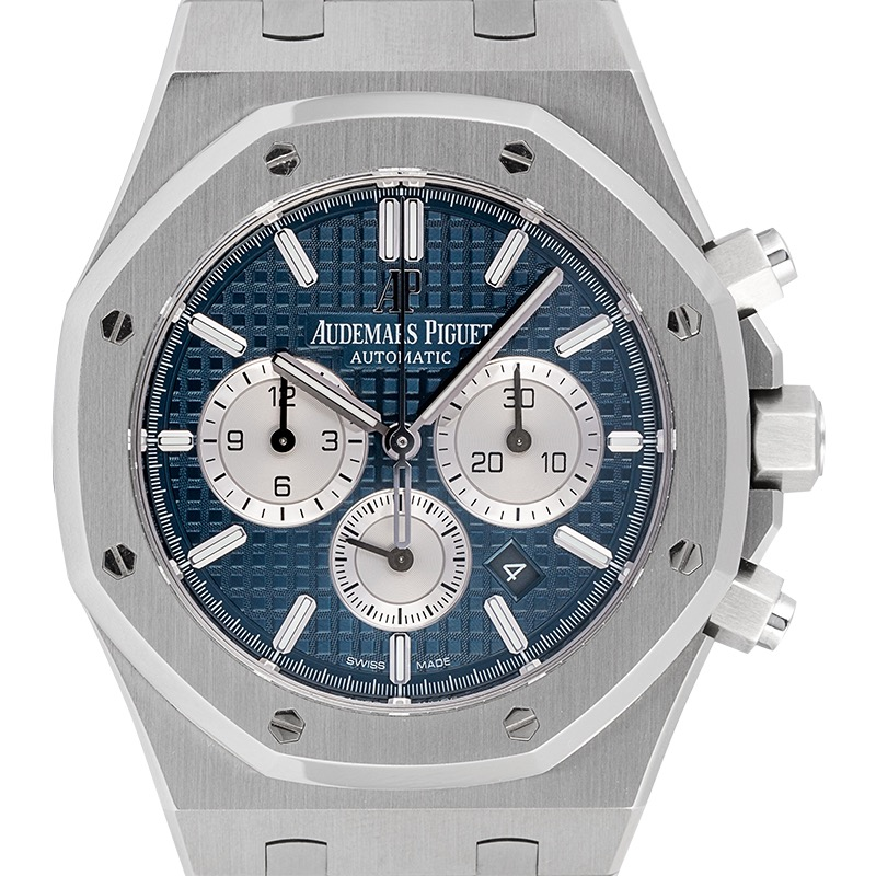 Audemars Piguet Royal Oak Chronograph 41 Steel Blue Dial Watch 26331ST.OO.1220ST.01