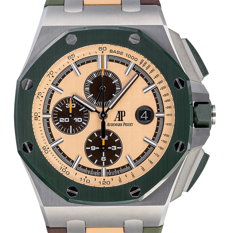 Audemars Piguet Royal Oak Offshore 44 Khaki Ceramic Bezel 26400SO.OO.A054CA.01