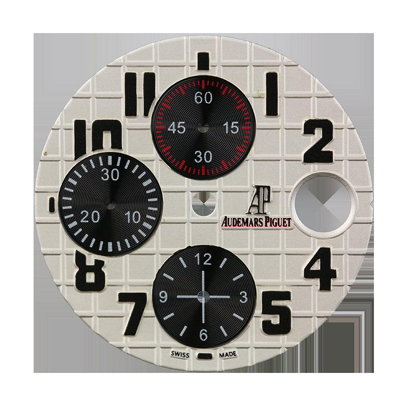 Audemars Piguet 42mm Silvered Méga Tapisserie Pattern Custom Dial