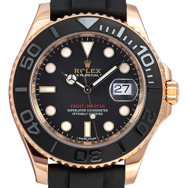 Rolex Yacht-Master 37mm Everose Gold Watch 268655