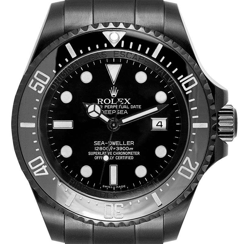 Rolex Deepsea Sea-Dweller Custom Black PVD 116660