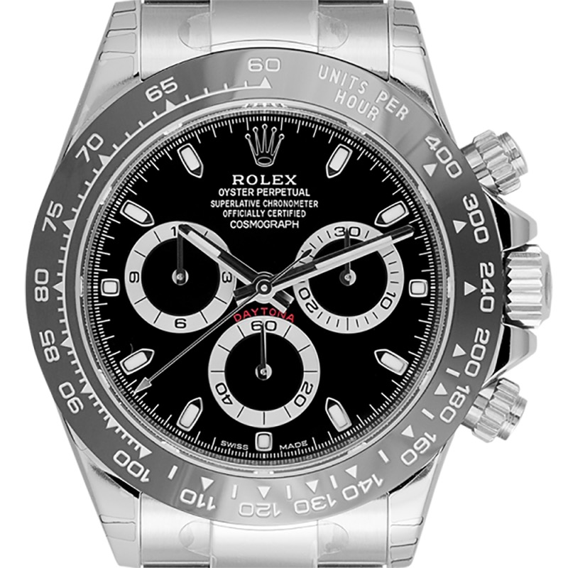 Rolex Cosmograph Daytona Stainless Steel Black Dial 116500LN