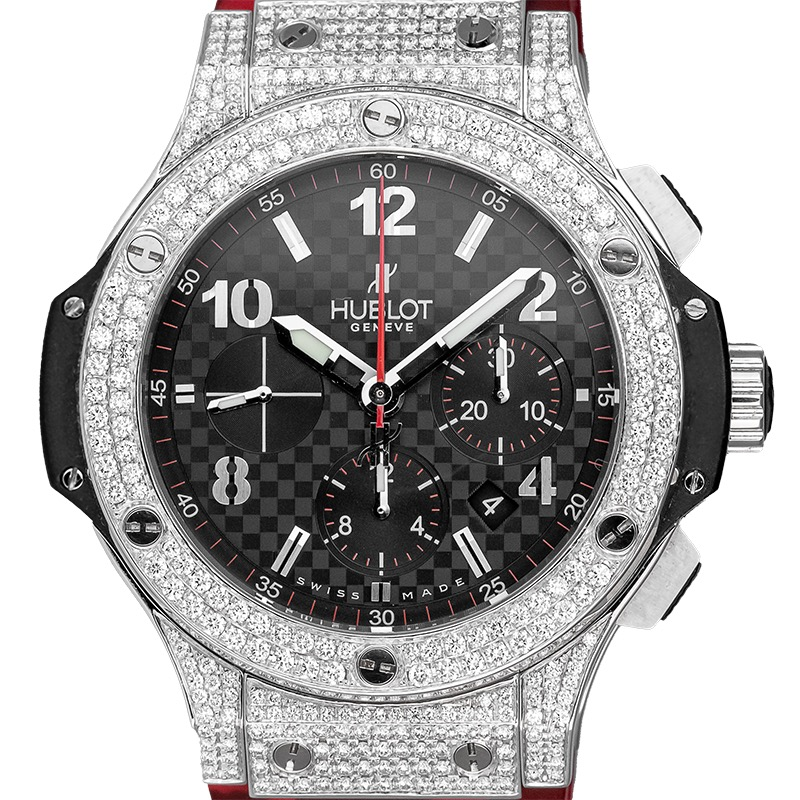 Custom Diamond Set Hublot Big Bang 301.SX.130.RX Watch