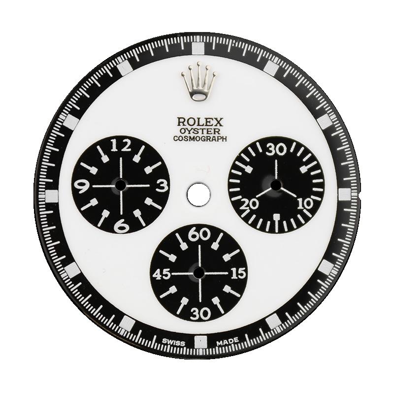 Rolex Daytona White/Black Custom Designed Dial 40mm