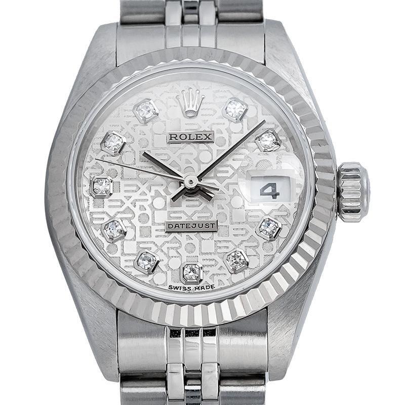 Rolex Lady Datejust 26mm Stainless Steel Jubilee 69174