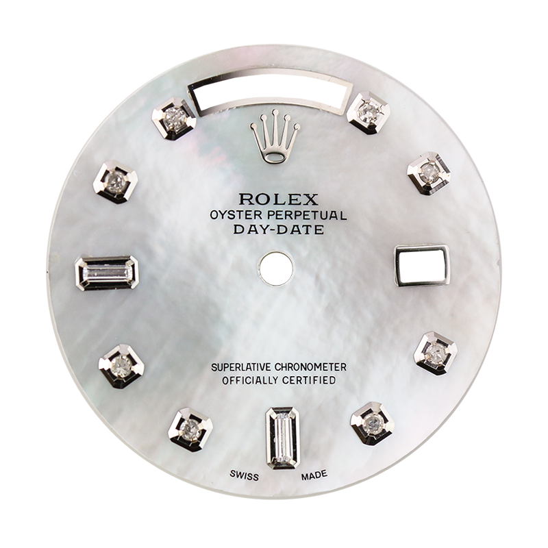 Rolex Day-Date 36 Mother of Pearl Custom Dial