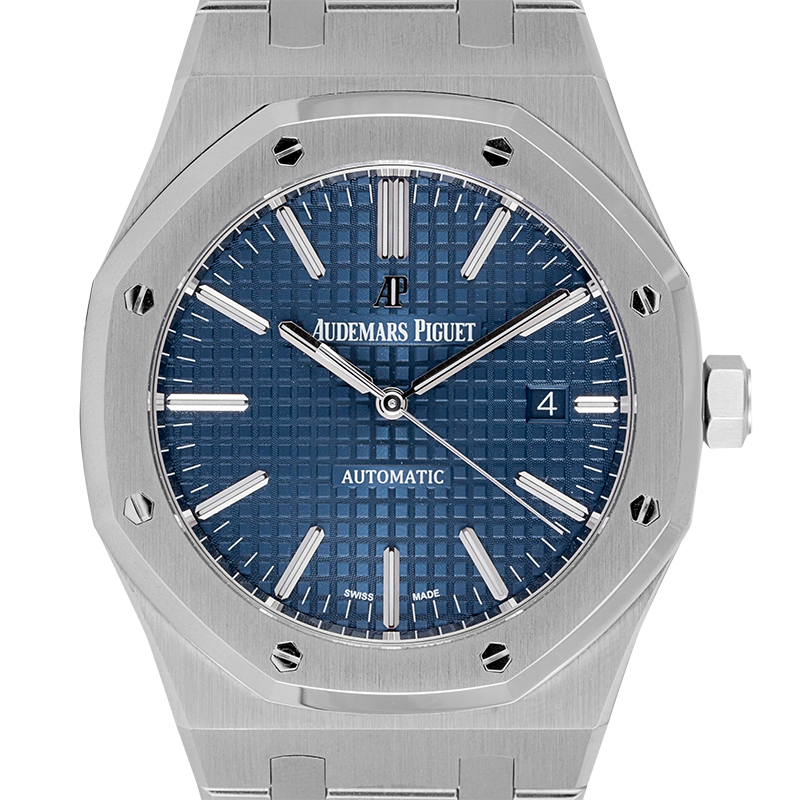 Audemars Piguet Royal Oak 41 Steel Blue Dial 15400ST.OO.1220ST.03.A (Boutique Edition)
