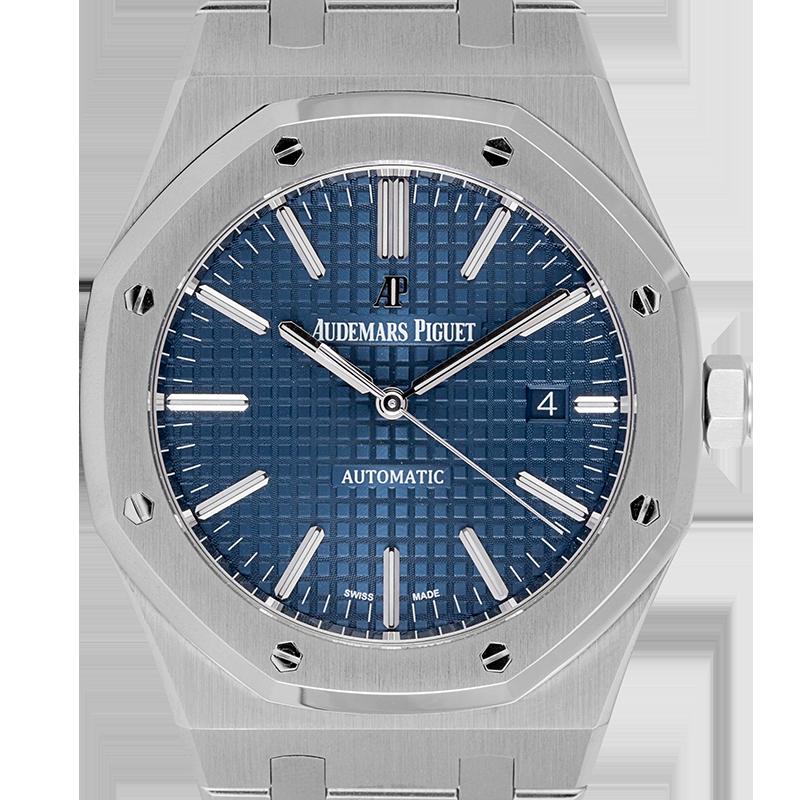 Audemars Piguet Royal Oak 41 Steel Blue Dial 15400ST.OO.1220ST.03.A (Boutique Edition)