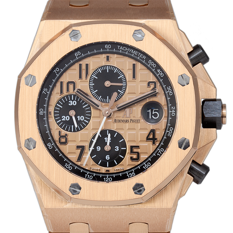 Audemars Piguet Royal Oak Offshore 42mm Full Rose Gold 26470OR.OO.1000OR.01