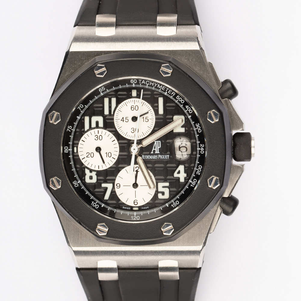 Audemars Piguet	25940SK.OO.D002CA.03 Royal Oak Off Shore Rubber Strap Black Dial