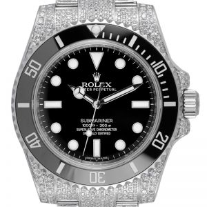 Custom Diamond Set Rolex Submariner 114060