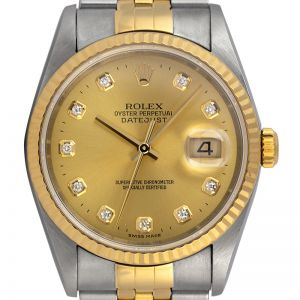Rolex Datejust 36 Steel and Yellow Gold Jubilee 116233