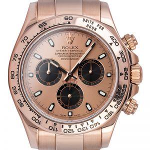 Rolex Cosmograph Daytona Everose Gold Watch Pink-Black/Index 116505