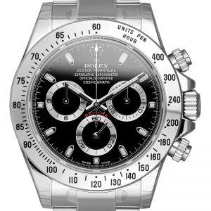 Rolex Daytona Steel Black Dial 116520