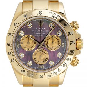 Rolex Daytona 18ct Yellow Gold Mother of Pearl 116528