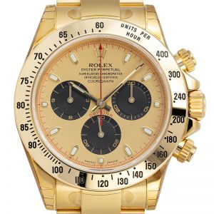 Rolex Cosmograph Daytona Full Yellow Gold Champagne/Black Index 116508