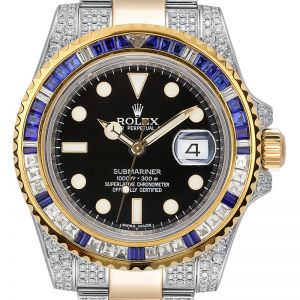 Rolex Submariner Date 116613LN Steel and 18ct Yellow Gold Diamond Set