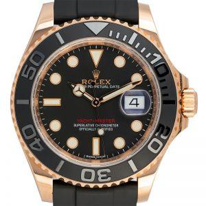Rolex Yacht-Master 40 18ct Everose Gold Black Dial 116655