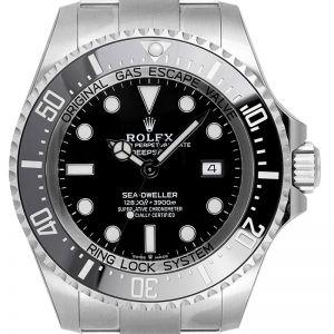 Rolex Deepsea Oystersteel Black Dial 126660